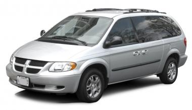 Коврики EVA Dodge Caravan IV (2001 - 2007) (задний диван)