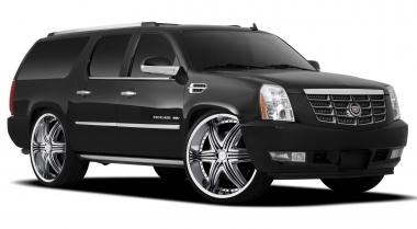 Коврики EVA Cadillac Escalade III 2007 - 2014 (5 мест)